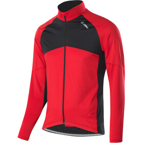 Löffler Block Bike Jersey Longsleeve Men red